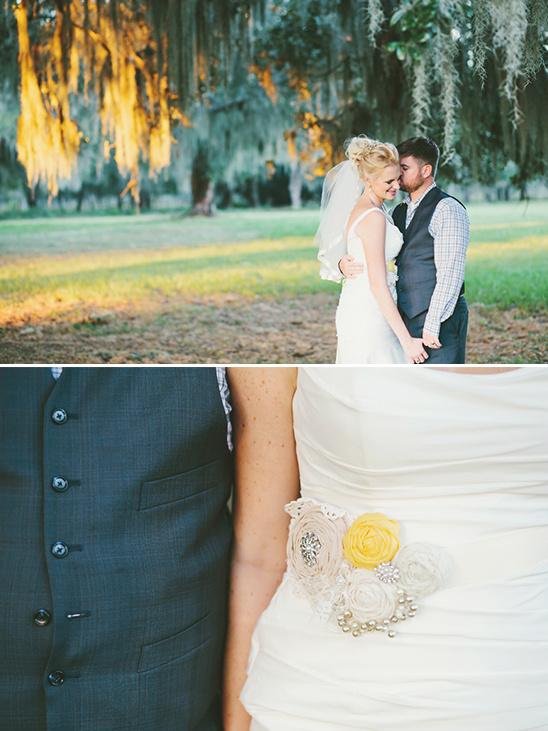 yellow and white wedding ideas