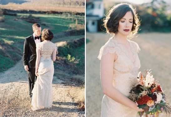 Claire Pettibone lace dress