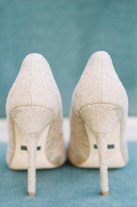Badgley Mischka elegant wedding shoes