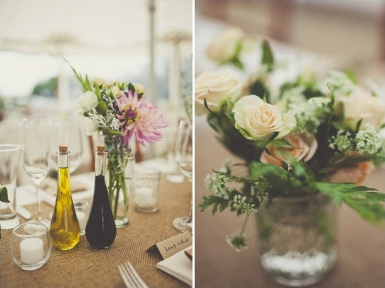 floral table decor