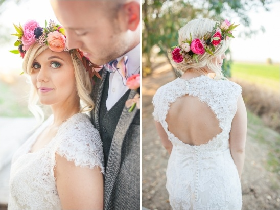 backless wedding dress from the Enchanted Bridal Shoppe