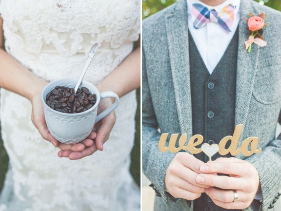 coffee bean wedding favor idea