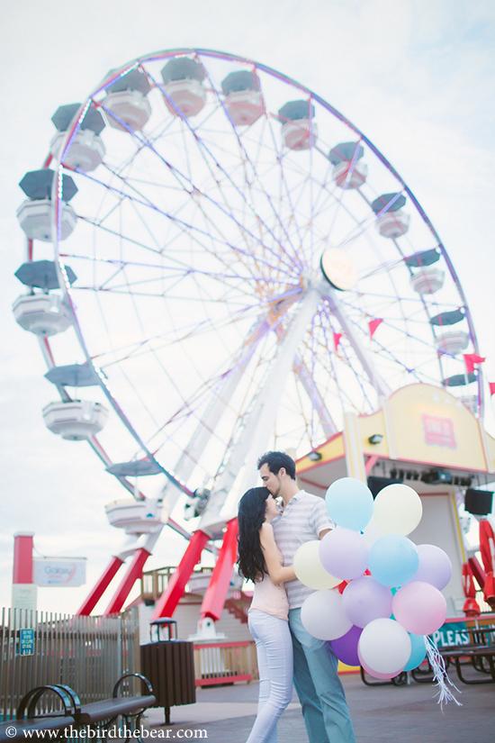 Carnival Engagement Photo Ideas