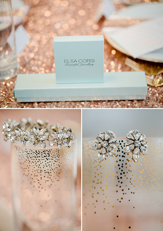 Rose gold wedding decoration for Decoration maison rose gold