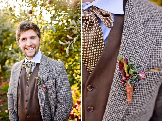 fall groom looks