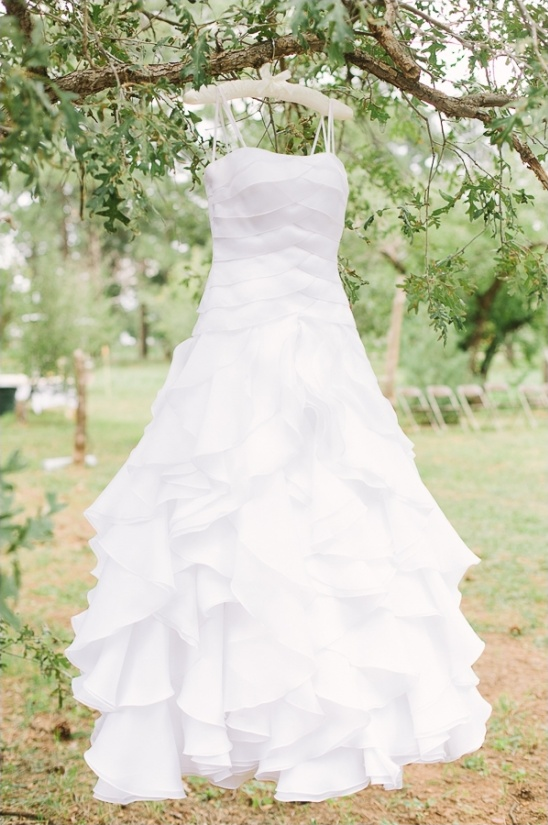 ruffled wedding dress from Nordstrom