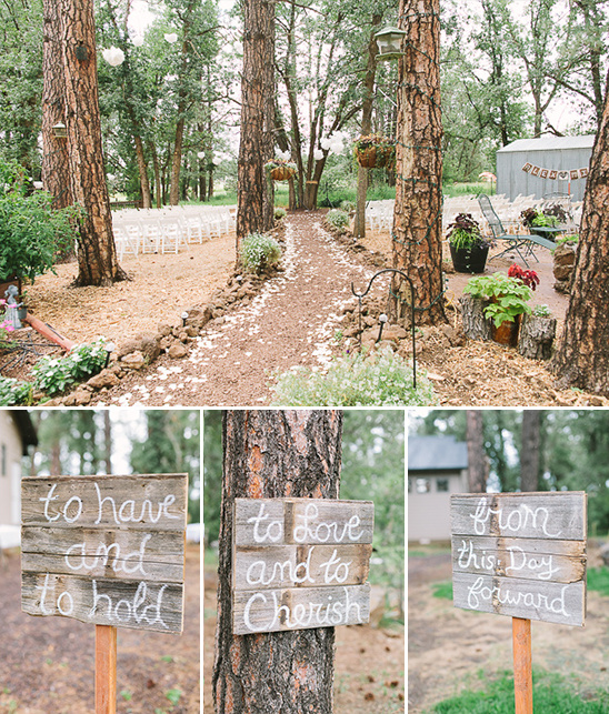 diy wedding signs