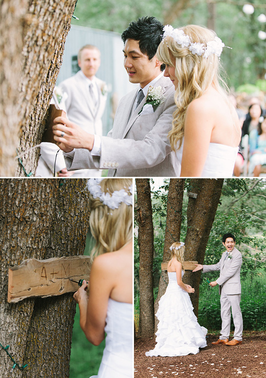 wood burn sign idea to remember your wedding day