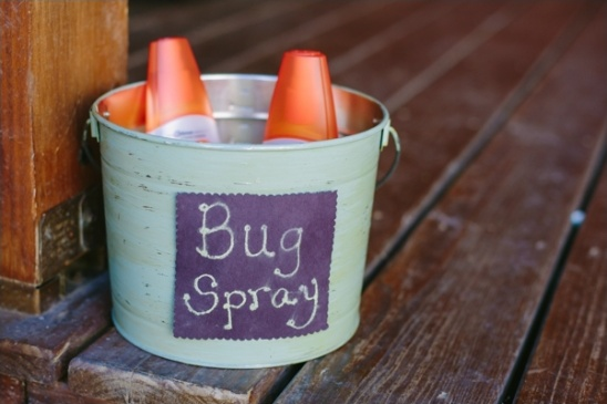 bug spray for outdoor weddings
