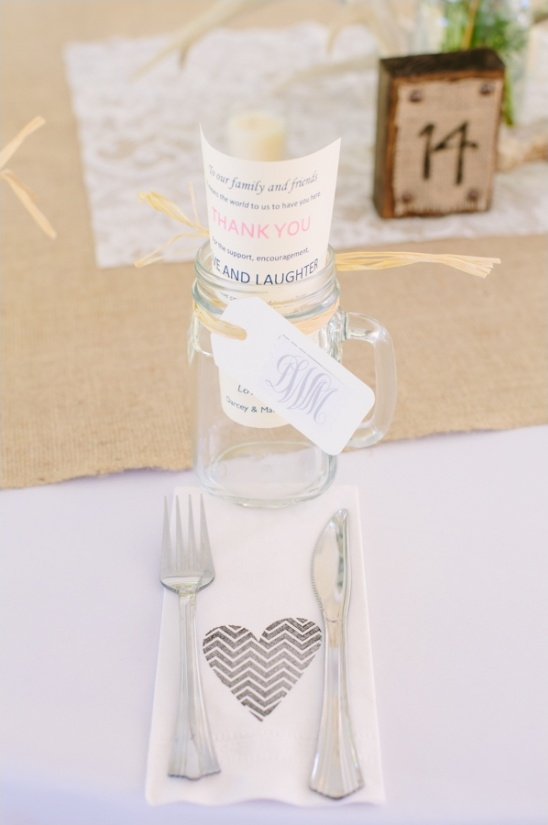 cute and simple place settings