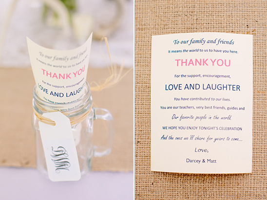 cute ways to thank your guests