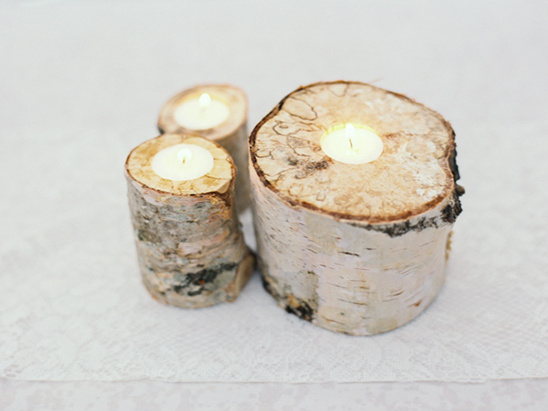 birch tree candles