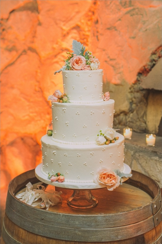 back lit wedding cake from Decadence Cakes