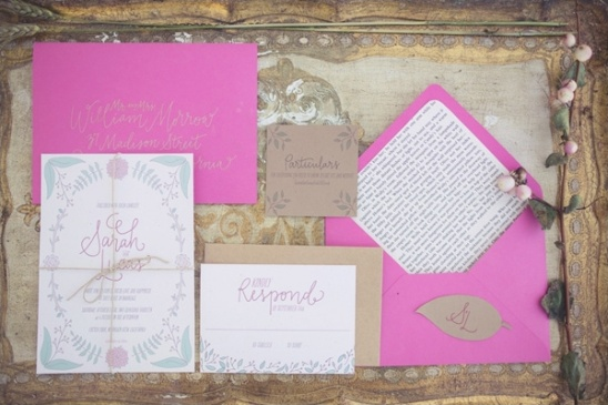 victorian inspired wedding invitations by Bright Room Studio