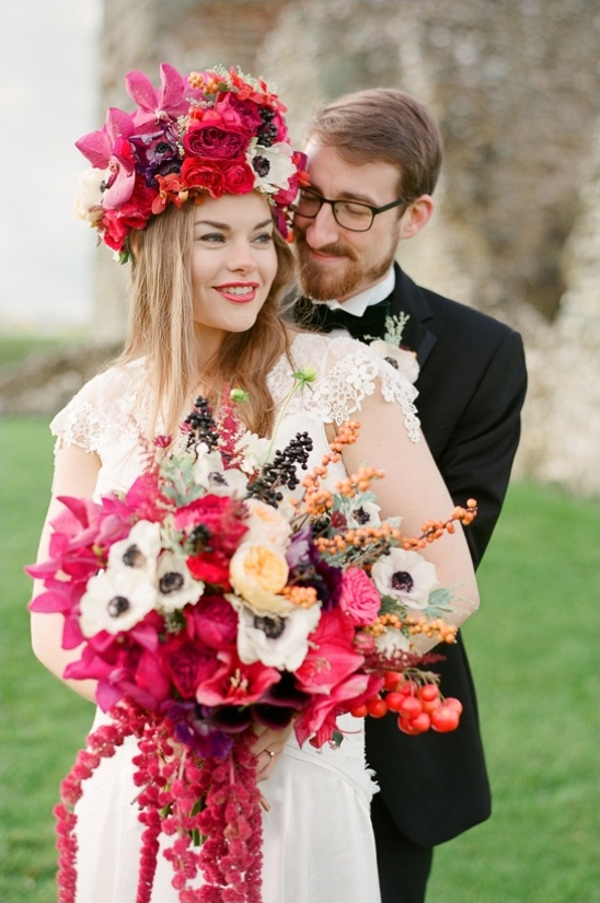 elegant and eclectic wedding looks