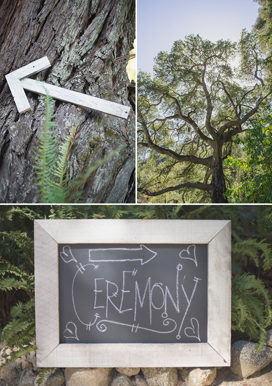 wedding ceremony chalkboard