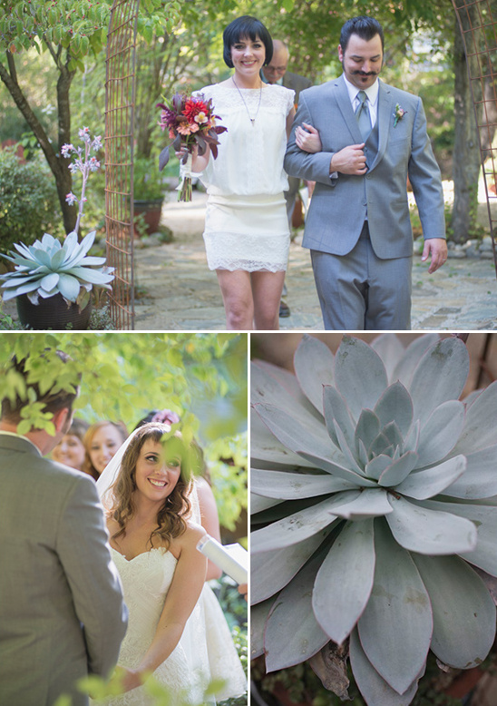 enchanting forest wedding ceremony