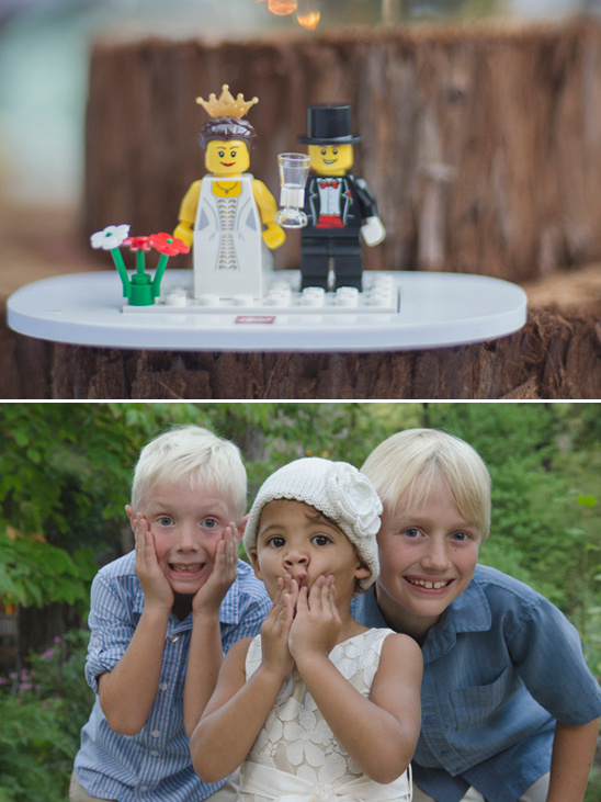 fun wedding lego set