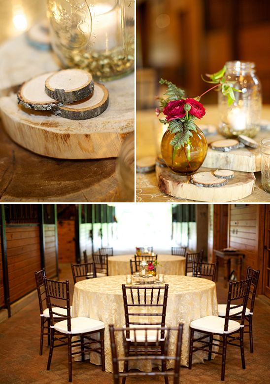 stable table centerpieces
