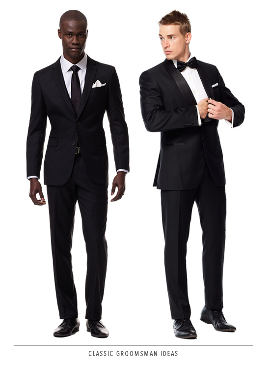 classic groomsman ideas from Black Lapel