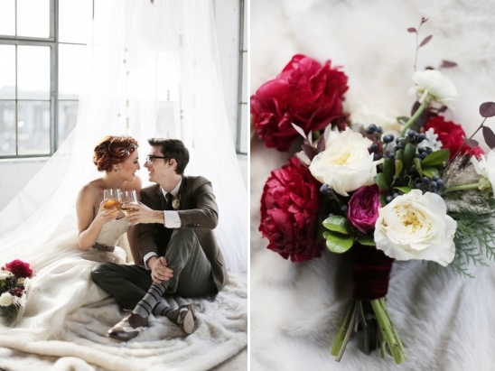romantic winter wedding ideas