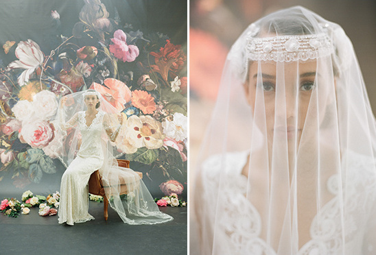 Claire Pettibone Wedding Veil