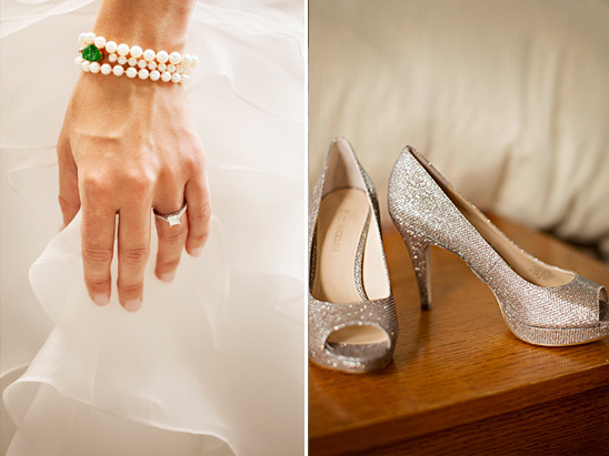 sparkly wedding accessories