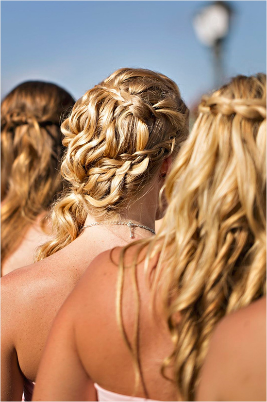 bridesmaid wedding hair ideas