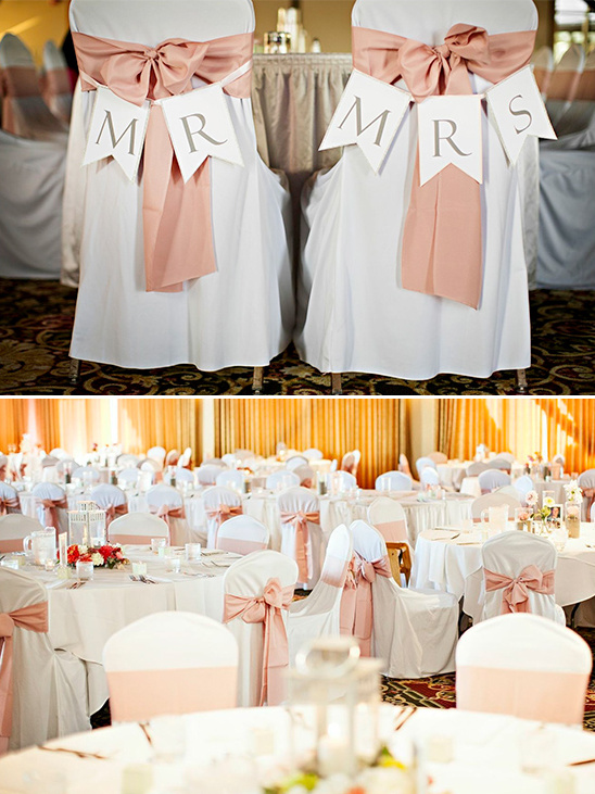 pink and white wedding ideas
