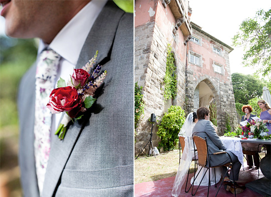 A Beautiful Wedding in Magical Sintra, Portugal