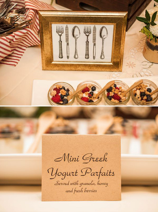 mini greek yogurt parfaits