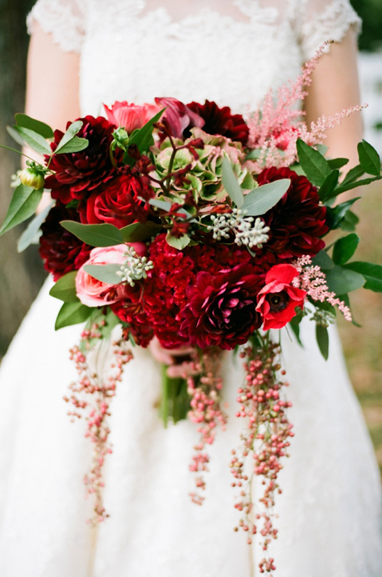 Red wedding bouquet ideas junglespirit Choice Image