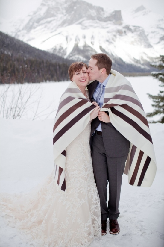 snow wedding ideas