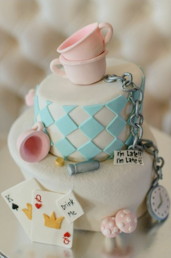 alice in wonderland cake by But Its Not Just Cakes