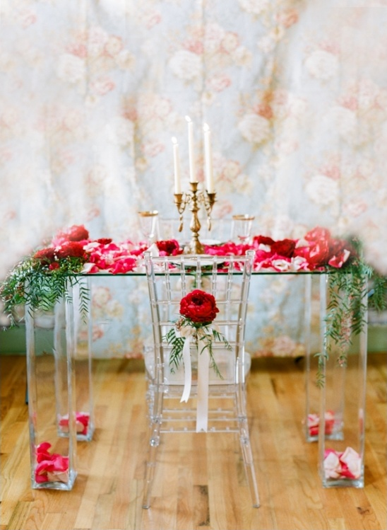 romantic red wedding ideas