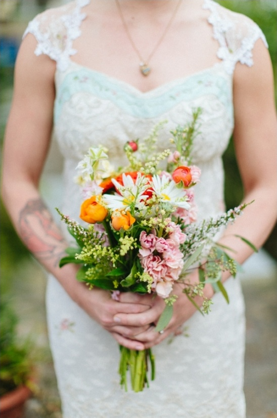 sunset bouquet ideas