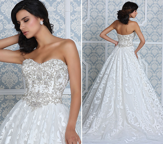 Princess Style Wedding Gown By Impression Bridal