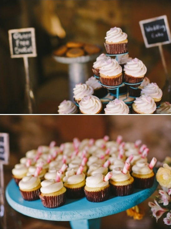 wedding cake cupcakes and summer lemonade cupcakes