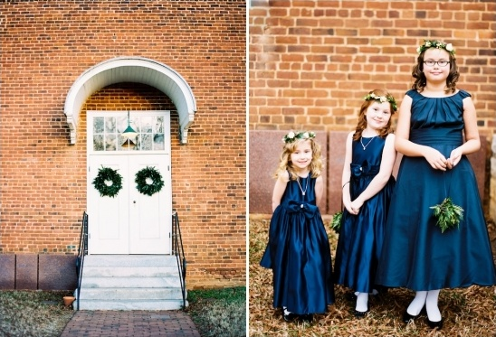 navy flower girl dresses