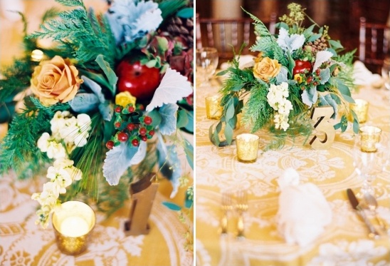 elegant heirloom table decor