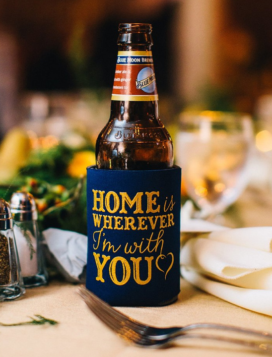 home is wherever I am with you coozie