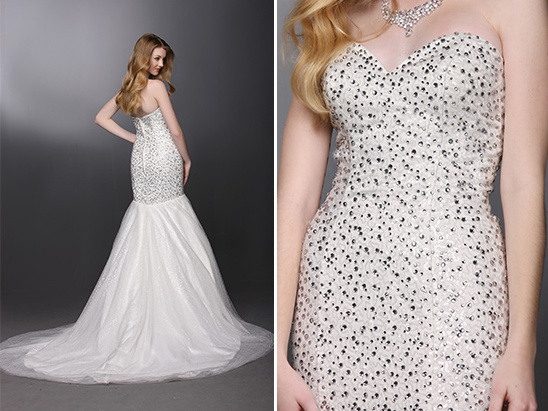 beaded wedding gown from DaVinci Bridal