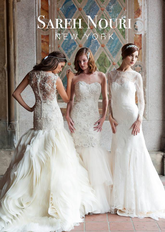 Sareh Nouri Trunk Show At Soliloquy Bridal Couture March 21 23