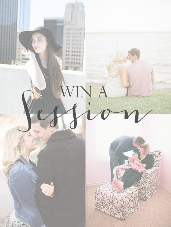 Win a free session from Amanda Watson Photography!