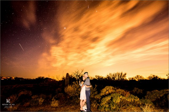 Desert Skies Engagement Photography