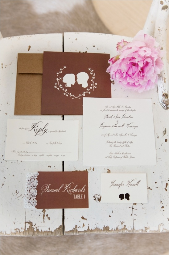 wedding invites with a rustic feel