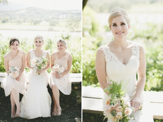 soft and sweet natural bridal looks