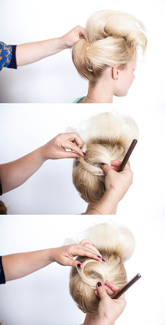hair diy updo