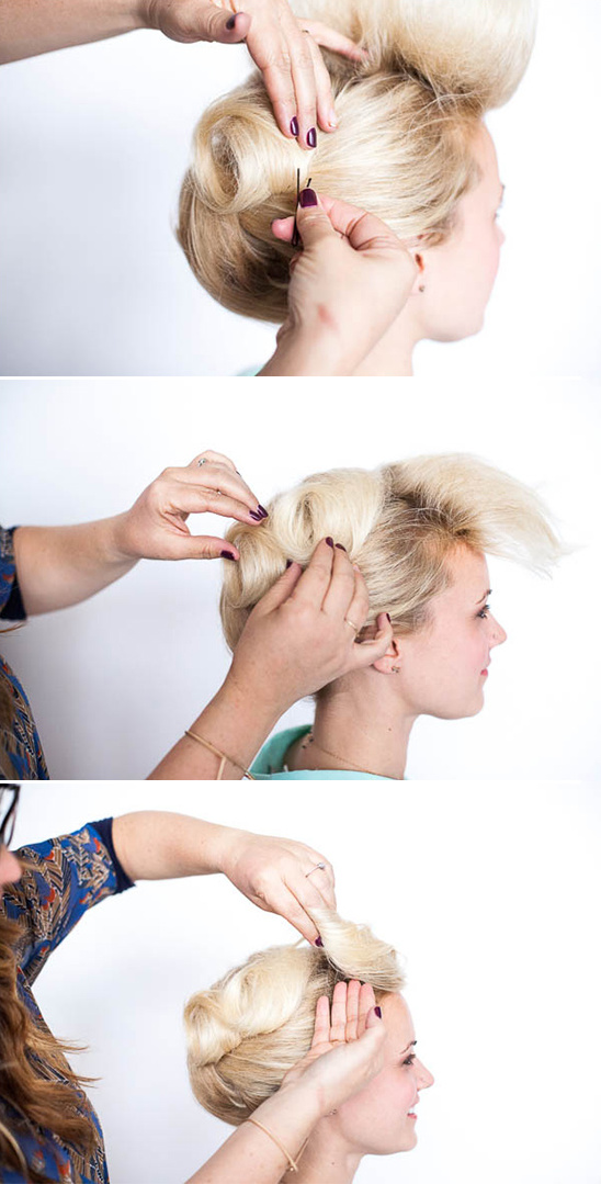 diy wedding updo