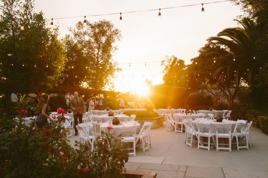 Coffee Shop Inspired California Wedding